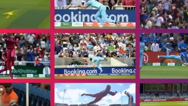 Best Catches in Cricket World Cup 2019: Here's a Look at Stunning Catches Taken During CWC19, Watch Video