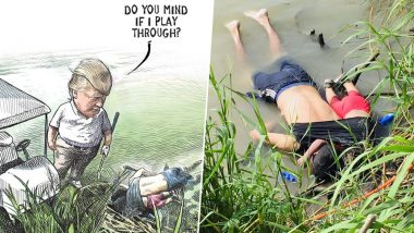 Anti-Trump Illustration on Border Crisis Featuring Migrant Dead Father-Daughter Goes Viral, Costs Canadian Cartoonist His Job