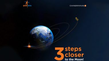 Chandrayaan-2 Gets Three Steps Closer to Moon, Completes Three Orbit-Raising Maneuvers Successfully