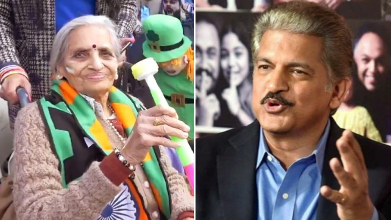 Anand Mahindra Promises to Sponsor Indian Team Fan, 87-Year-Old Charulata Patel's Tickets For All Team India Matches at ICC CWC 2019