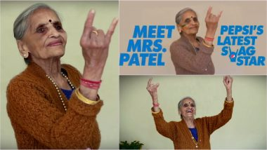 Charulata Patel, 87-Year-Old Team India Fan, Features in Pepsi Ad Ahead of India vs New Zealand CWC 2019 Semi-Final Match, Watch Fan Anthem Video