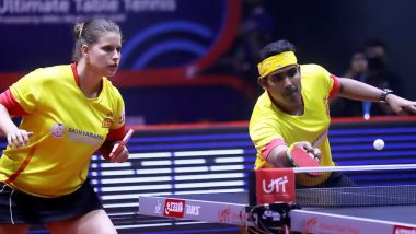 Ultimate Table Tennis 2019: Chennai Lions Thrashes Dabang Delhi in Finals To Clinch the Title