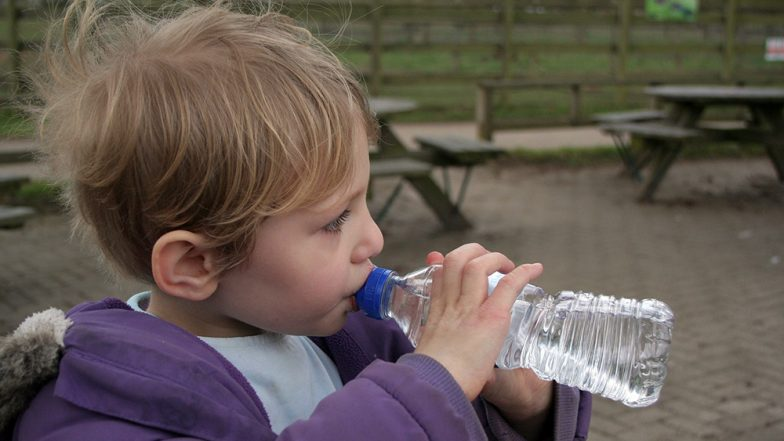 Attention Parents! 6-Year-Old UK Boy Nearly Dies After Getting Tongue Stuck in Water Bottle Lid (Watch Video)