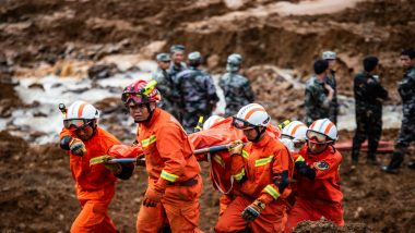 China: Heavy Rain Causes Landslide in Hubei Province, 9 Swept Away, Rescue Operations Underway