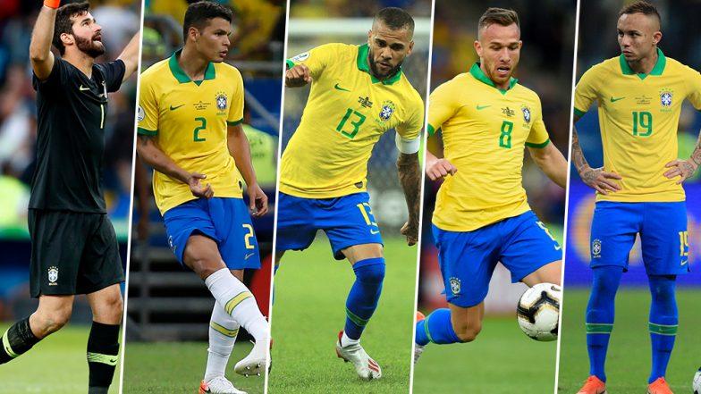Copa America 2019: Five Brazilians Including Dani Alves Named in Team of the Tournament