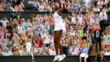 Cori 'Coco' Gauff Saves Two Match Points to Defeat Polona Hercog in Wimbledon 2019; 15-Year-Old American Tennis Player Advances to Fourth Round