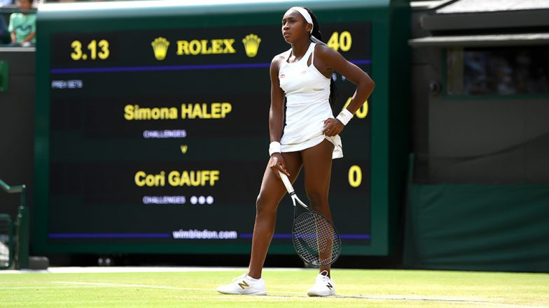 Image result for cori gauff wimbledon 2019