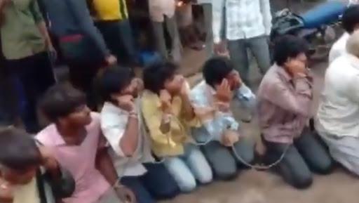 Cow Vigilantism in Madhya Pradesh: 24 Men Thrashed on Khandwa Street, Forced to Chant 'Gau Mata ki Jai'