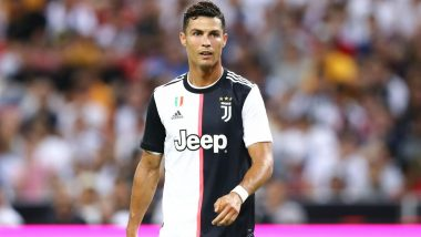 Cristiano Ronaldo Fumes After a Pitch Invader Grabs His Collar During Juventus vs Bayer Leverkusen (Watch Video)