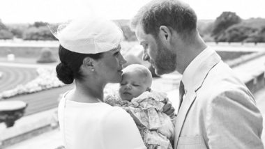 Prince Harry, Meghan Markle's Son Archie Christened at Windsor Castle in Private Service; See Pics