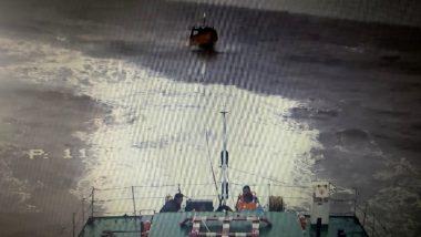 Indian Coast Guard Ship Rescues 8 Fishermen Stranded at Sea Off Odisha Coast Since June 21