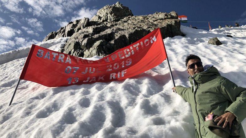 Kargil Vijay Diwas 2019: Vishal Batra, Brother of Captain Vikram Batra, Climbs 16,000-Foot-High Mountain to Pay Tribute to Kargil War Hero