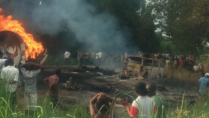 Nigeria: Petrol Tanker Overturned in Benue, 45 Killed