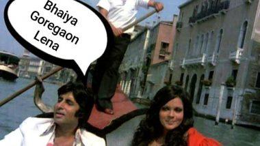 Amitabh Bachchan Shares Meme On Mumbai's Rain Pain
