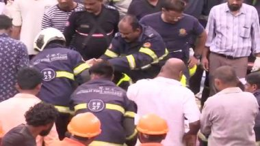 Malad Wall Collapse: NDRF Team Pulls Out One More Woman Alive From Debris, Rescue Operation Underway