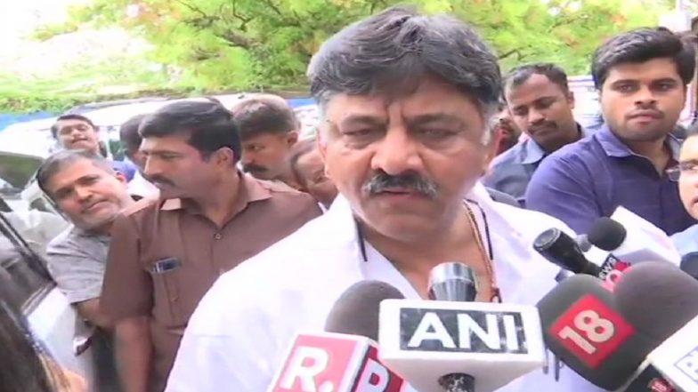 Karnataka Govt Crisis: Congress' DK Shivakumar Admits 'Tearing Up' Resignation of Rebel MLAs, Dares Them to File Complaint