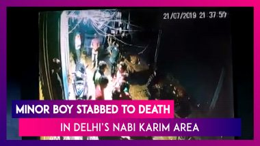 Delhi: Minor Boy Stabbed to Death After a Scuffle in Nabi Karim Area