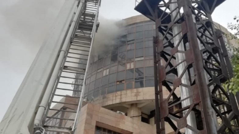 Delhi: Fire Breaks Out at DGHS Office in Karkardooma, 22 Fire Tenders at Spot
