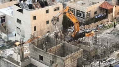 European Union Urges Israel to 'Immediately' Stop Palestinian Homes Demolition