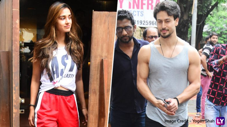 Tiger Shroff and Disha Patani Enjoy a Lunch Date at a Bandra Eatery, Avoid Getting Clicked Together -  See Pics