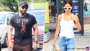 Arjun Kapoor and Malaika Arora Snapped After Enjoying a Lunch Date in Mumbai - See Pics