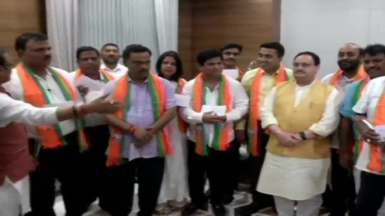 Goa Political Turmoil: 10 Rebel MLAs of Congress Formally Join BJP; No Clarity on Cabinet Reshuffle Yet
