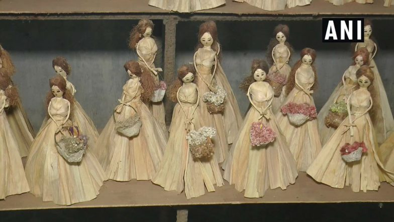 Manipuri Florist Makes Exquisite Dolls Out of Corn Musk and Silk, Check Out Pictures