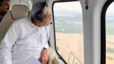 Bihar Flood Turns Grim: 4 Dead, 18 Lakh Hit; CM Nitish Kumar Conducts Aerial Survey