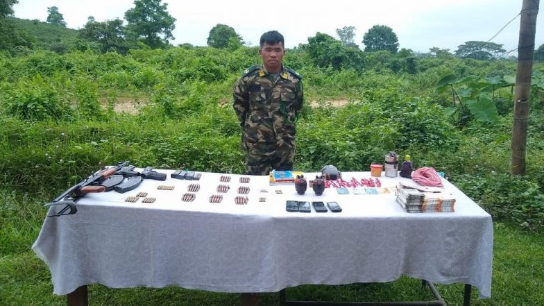 Arunachal Pradesh MLA Murder: NSCN (I-M) Leader Anok Wangsa, Allegedly Involved in Killing of Tirong Aboh, Arrested by Security Forces