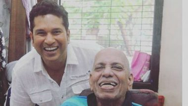 Sachin Tendulkar Pays Tribute to Childhood Coach Ramakant Achrekar On Guru Purnima 2019