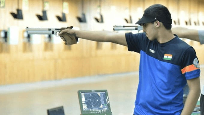 ISSF Junior Shooting World Cup 2019: Vijayveer Sidhu Wins 3rd Gold in Germany