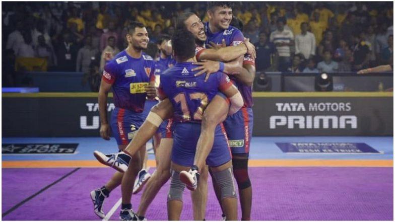 Dabang Delhi vs Jaipur Pink Panthers PKL 2019 Match 27 Free Live Streaming and Telecast Details: Watch DD vs JAI, VIVO Pro Kabaddi League Season 7 Clash Online on Hotstar and Star Sports