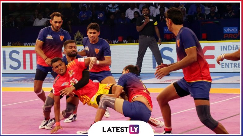 Dabang Delhi Team Squad in Pro Kabaddi League 2019: List of All Players and Schedule of Joginder Narwal-Captained Side In VIVO PKL 7