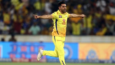 IPL 2020 Players' Update: CSK Pacer Deepak Chahar Returns to Team Hotel After Two Negative COVID-19 Tests
