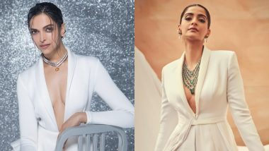 Deepika Padukone or Sonam Kapoor - Who Makes The Plunging Neckline With A Gorgeous Neckpiece Look More Alluring?