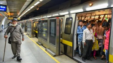 Delhi Metro Timings for Diwali 2019: Train Services to be Available Till 10 PM from All Terminal Stations on October 27