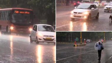 Delhi Rains: Strong Winds and Shower Grace Delhi-NCR, Social Media Flooded With Tweets