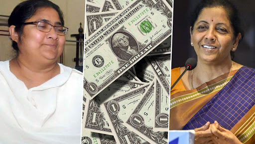 Budget 2019: TMC MP Dola Sen Gives Zero Hour Notice in Rajya Sabha Over Nirmala Sitharaman's Proposal to Divest 42 PSUs
