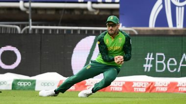 Faf du Plessis Won't Rush South Africa Future Despite Team's Failure in the ICC Cricket World Cup 2019