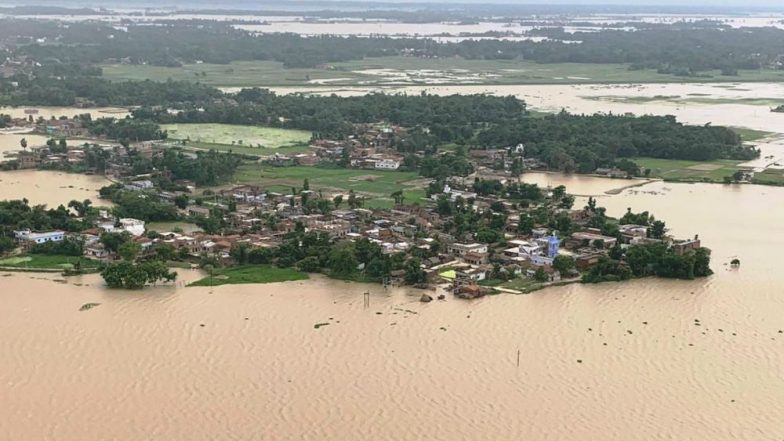 Bihar Floods: Death Toll Jumps to 106, IAF Deploys Helicopters in Darbhanga to Help Flood Affected Victims