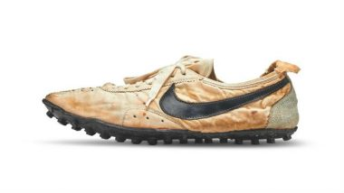 Nike's 'Moon Shoe' Copped by Canadian Collector Miles Nadal for a Record-Breaking $437,500