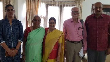 Kulbhushan Jadhav's Family Meets Former External Affairs Minister Sushma Swaraj