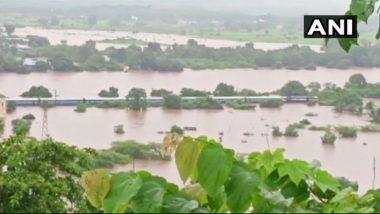 Maharashtra Rain Havoc: Train Services to Be Affected in Ratnagiri Due to Water-Logging on Railway Tracks