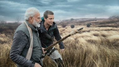 Man vs Wild With Bear Grylls and PM Narendra Modi on Discovery Channel: Know Telecast Time and How to Watch the Episode Live