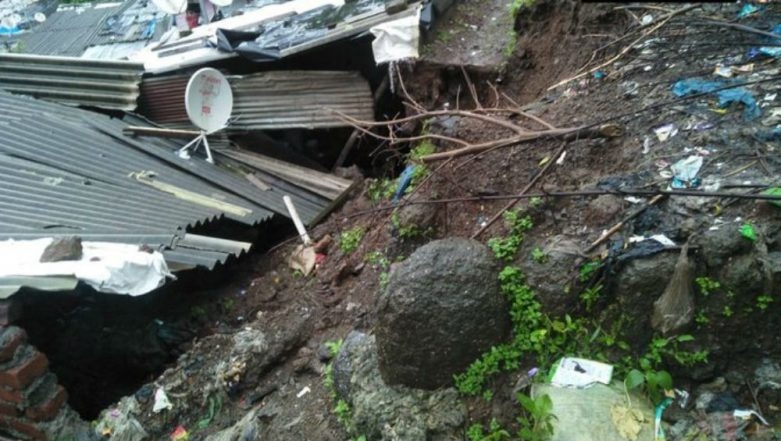 Mumbai: 2 Dead After Wall Collapses in Kalwa Due to Landslide, Several Evacuated