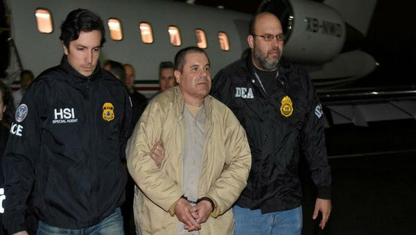 Mexican Drug Kingpin Joaquin 'El Chapo' Guzman Sentenced to Life in US Prison