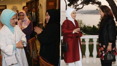 Emine Erdogan, Turkey's First Lady Flaunts USD 50,000 Handbag on Trip to Japan and Instantly Gets Hate and Backlash