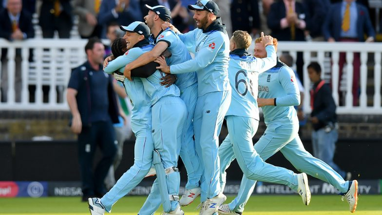 England Are the Champions! Eoin Morgan and Co. Win ICC Cricket World Cup 2019 in Thriller Super-Over Final Match Against New Zealand