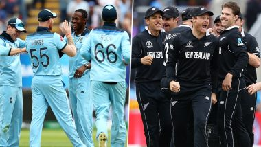 England and New Zealand Lock Horns for Maiden World Cup Title in ICC Cricket World Cup 2019 Final