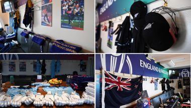 New Zealand vs England CWC 2019 Final: ICC Shares Insights of Dressing Rooms of Both Teams, See Pics